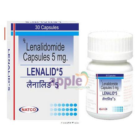 LENALID 5MG CAPSULE Image 1
