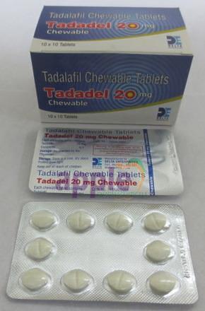 Tadadel Chewable 20mg Image 1