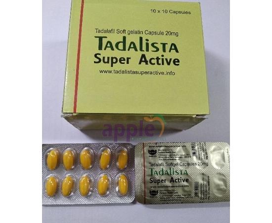 Tadalista Super Active 20mg Image 1