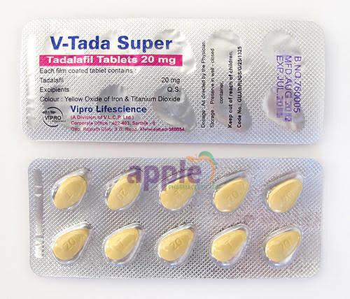 V-Tada Super 20mg Image 1
